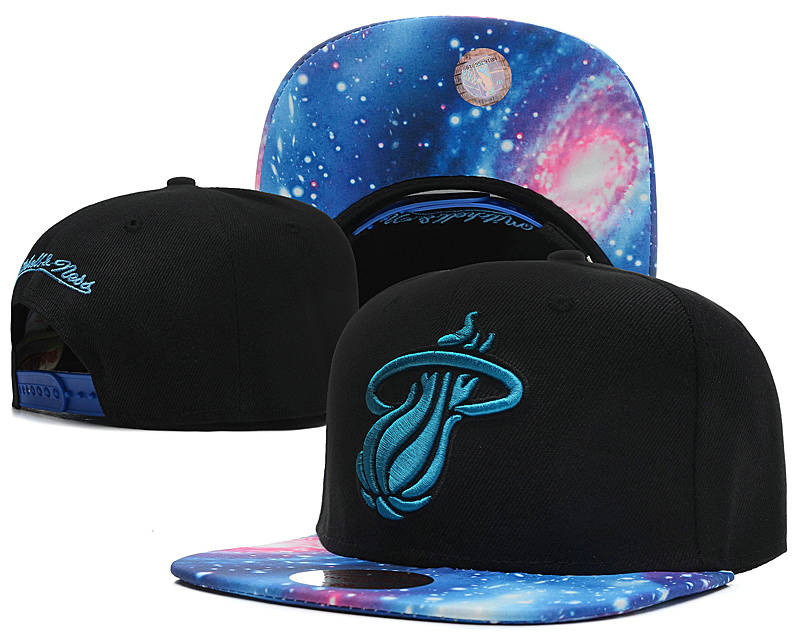 Miami Heat Snapback Hat SD 13